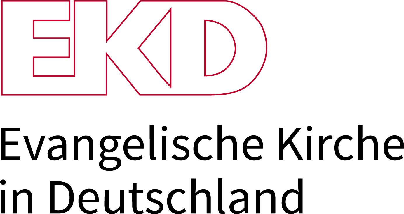 Logo: mit der EKD vertraglich verbundene Gemeinden im Ausland