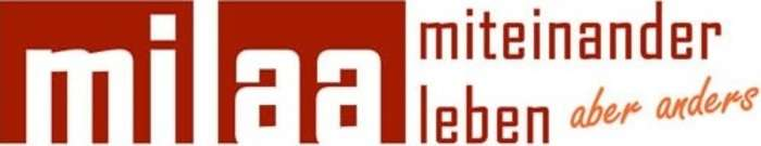 Logo: Krisen- und Clearingeinrichtung MILaa Mitte