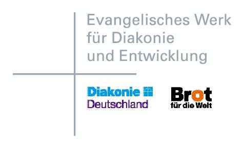 Logo: Ev. Werk für Diakonie und Entwicklung e.V.