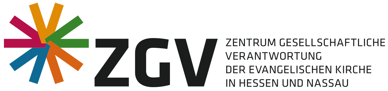 Logo: Zentrum Gesellschaftliche Verantwortung der Evangelischen Kirche in Hessen und Nassau