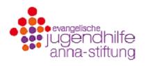 Logo: Ev. Jugendhilfe Anna-Stiftung e. V.