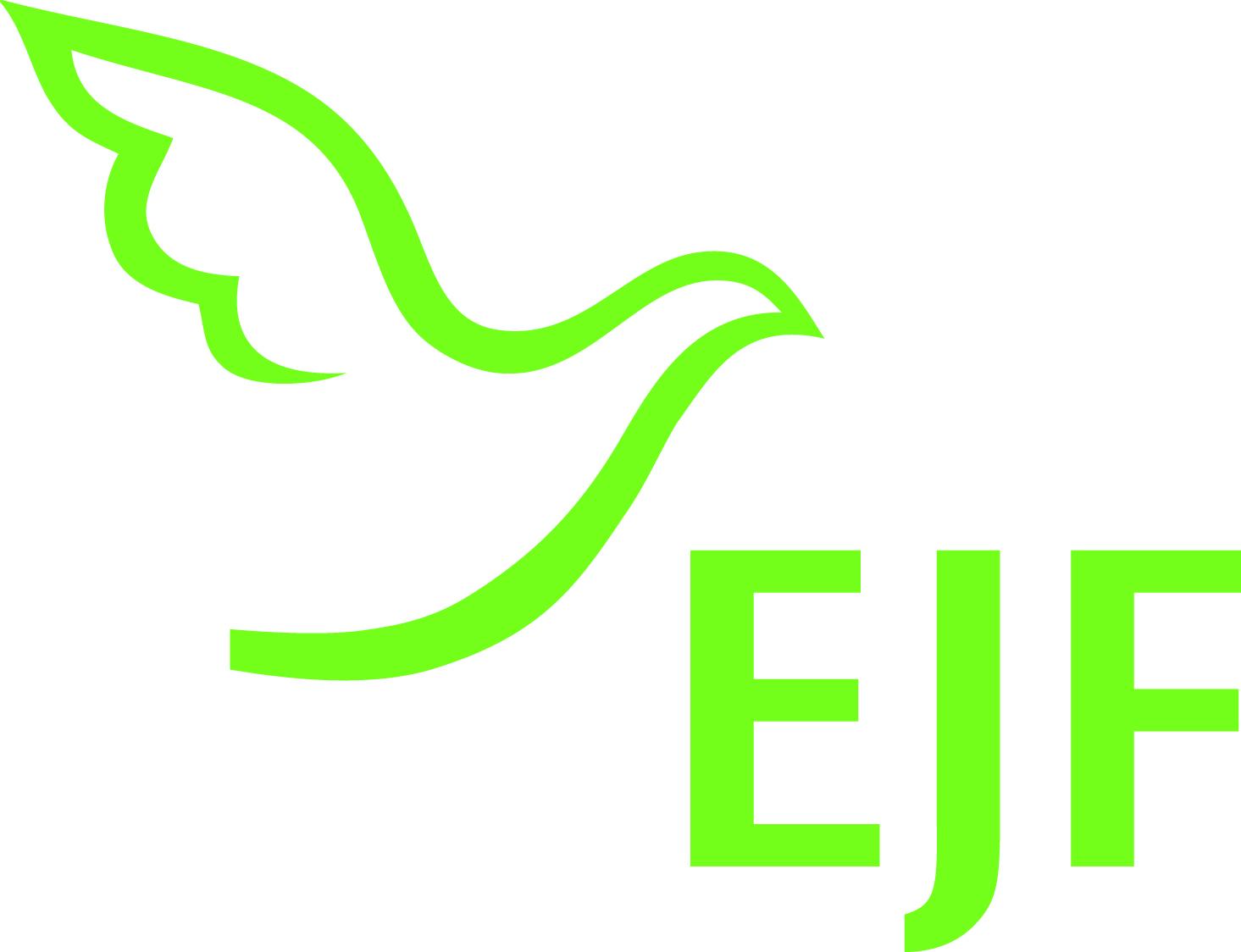 """Logo: EJF JHE """"Am Schiefergrund"""""""