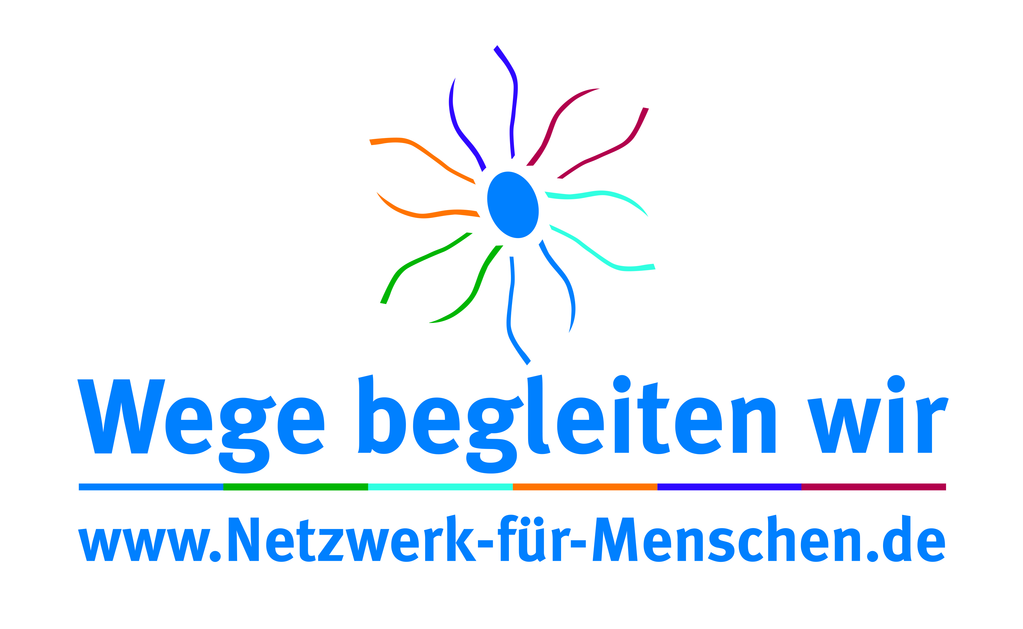 Logo: Netzwerk für Menschen (Augustenstift zu Schwerin, SOZIUS gGmbH & ASG mbH)