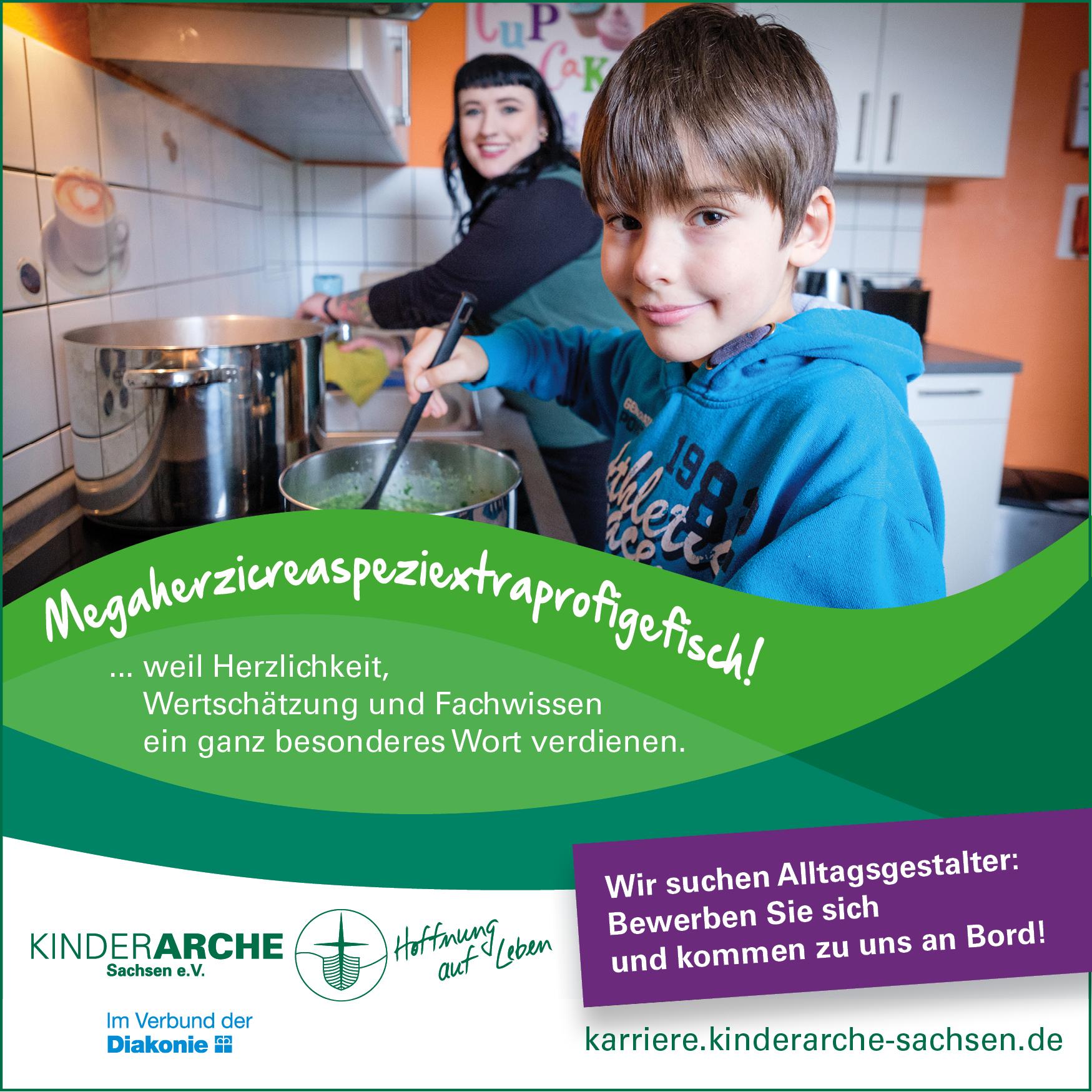 Logo: Kinderarche Sachsen e.V.