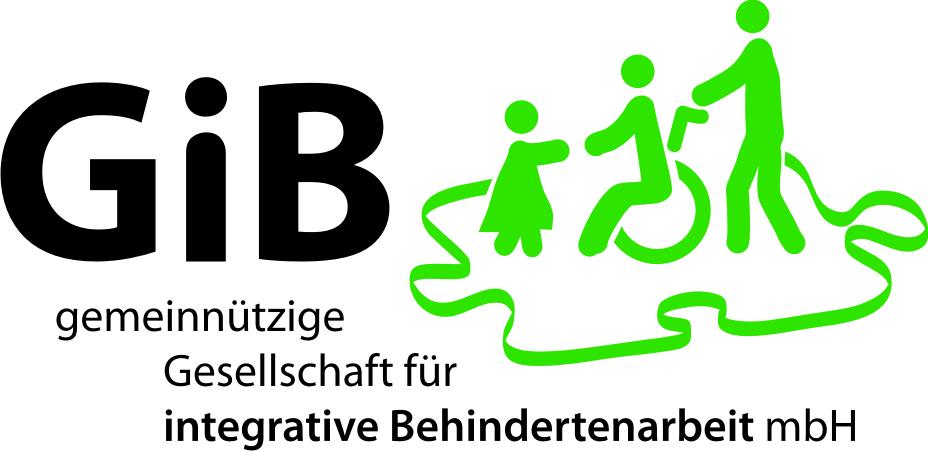 Logo: GiB Gesellschaft für integrative Behindertenarbeit mbH