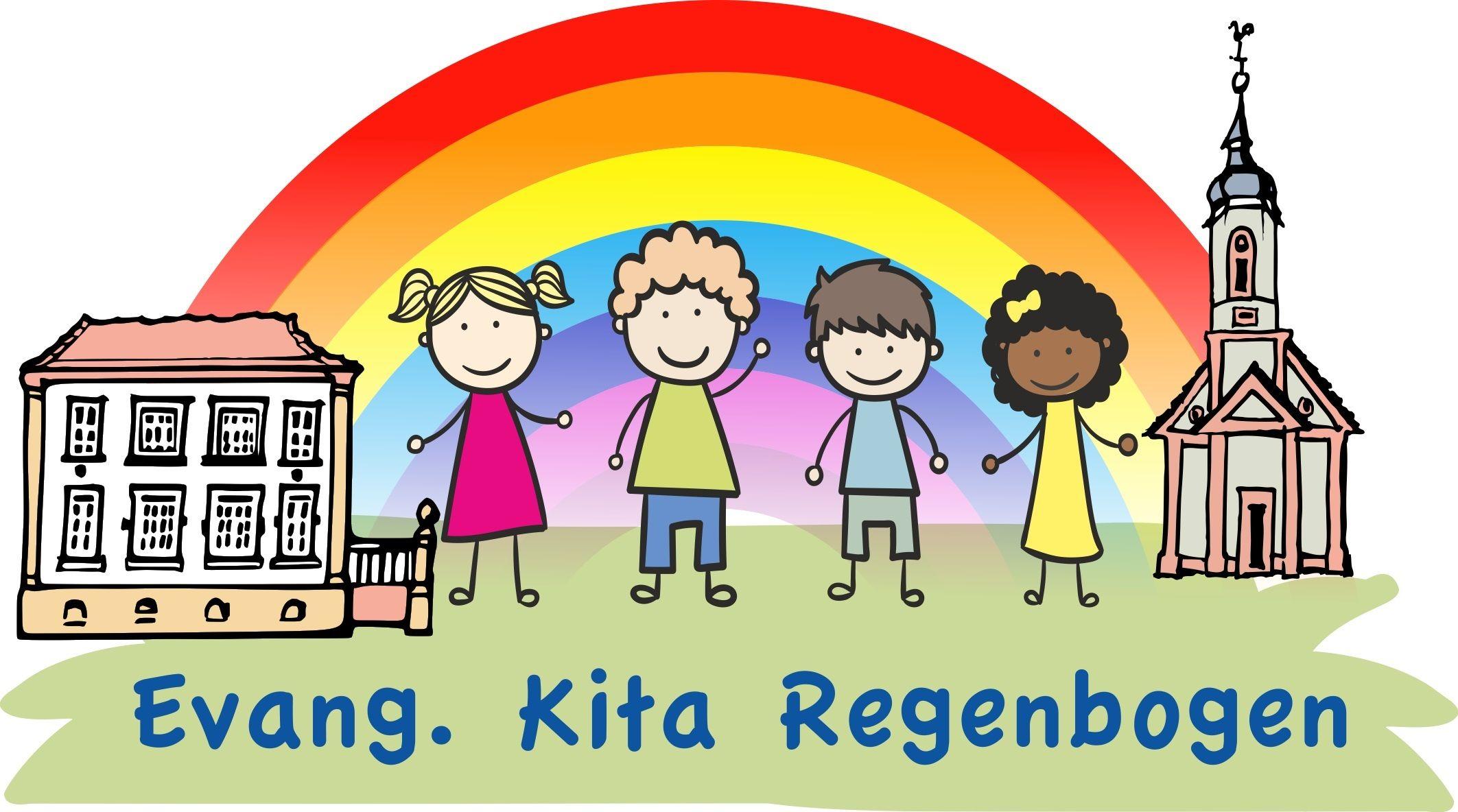 Logo: Evangelisches Familienzentrum und Kindertagesstätte Regenbogen