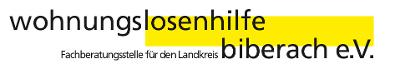 Logo: wohnungslosenhilfe biberach e. V.