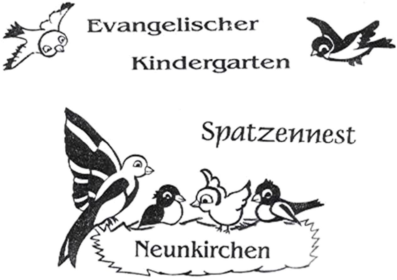 Logo: Evangelischen Kindergarten Spatzennest