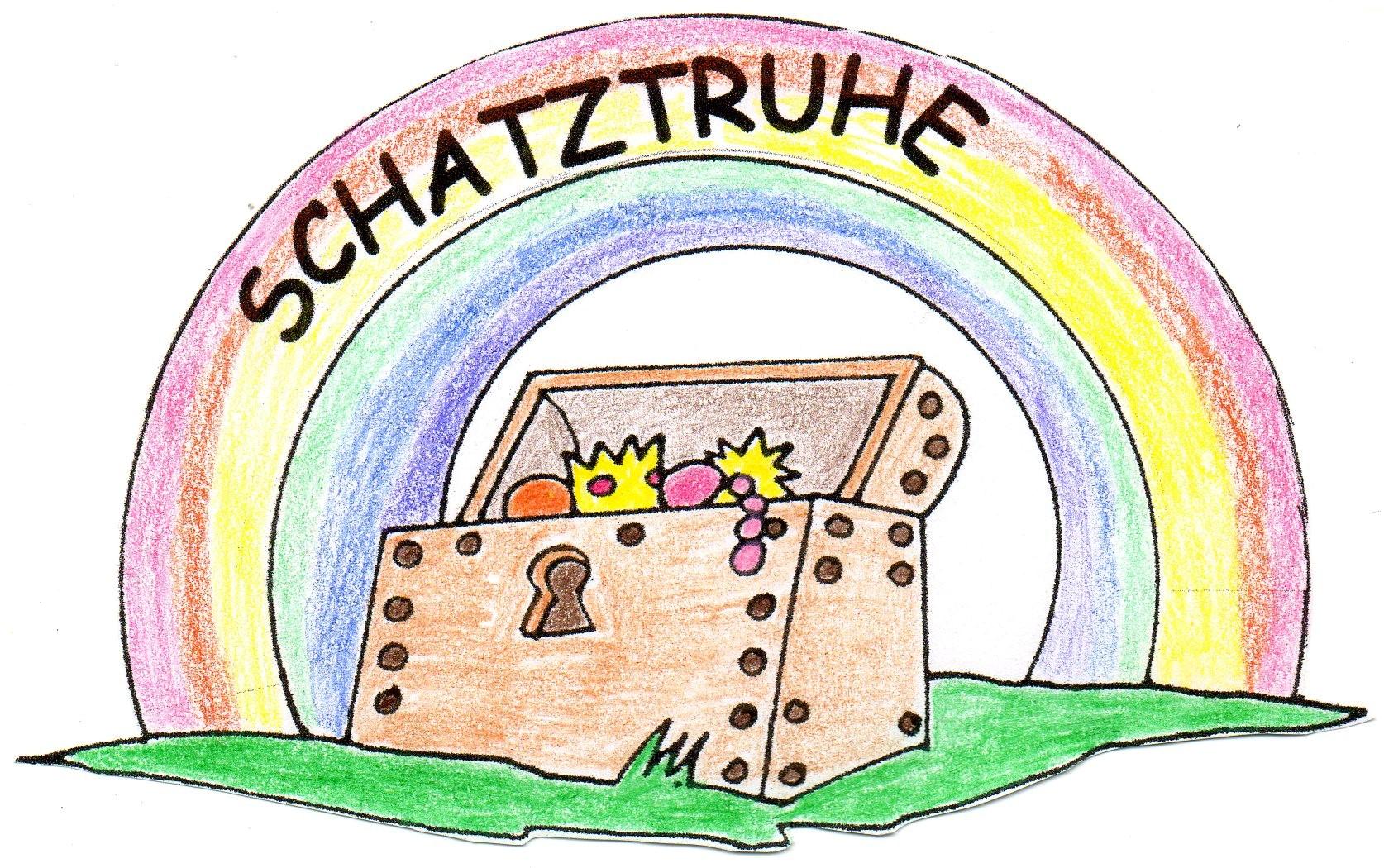 """Logo: Evangelische Kindertageseinrichtung """"Schatztruhe"""" in Neckarbischofsheim"""