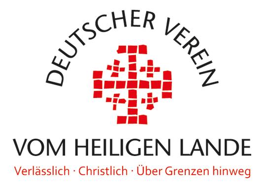 Logo: Deutscher Verein vom Heiligen Lande